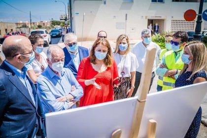 Junta financia con 60.000 euros las mejoras para el camino rural de La Marina en Roquetas de Mar (Almería)