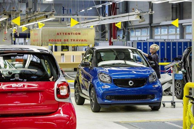 Planta de Daimler en Hambach (Francia)