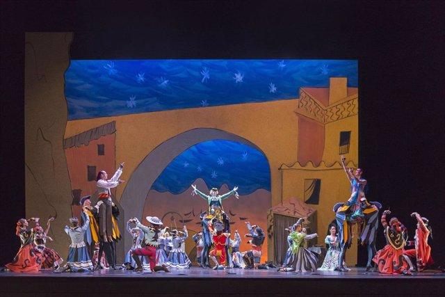 El Ballet Nacional De España Compartirá En Abierto En Su Canal De Youtube, Desde Este Sábado Y Hasta El 31 De Agosto De 2020, 'El Sombrero De Tres Picos', Una De Las Obras Más Emblemáticas De Su Repertorio.