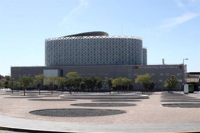 Edificio del Hospital Rey Juan Carlos, en Móstoles (Madrid).