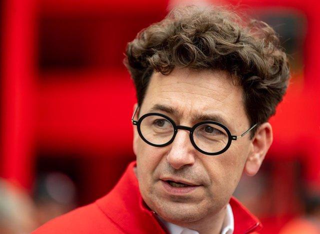 Mattia Binotto, jefe de Ferrari