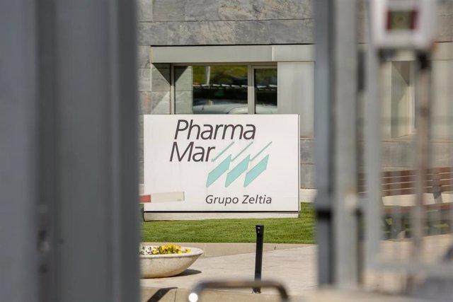 Sede de PharmaMar, empresa que anunció el pasado martes día 3 de marzo que podría contar en menos de un mes con un tratamiento para tratar el actual brote de coronavirus, denominado Covid-19, en Colmenar Viejo/Madrid (España), a 5 de marzo de 2020.