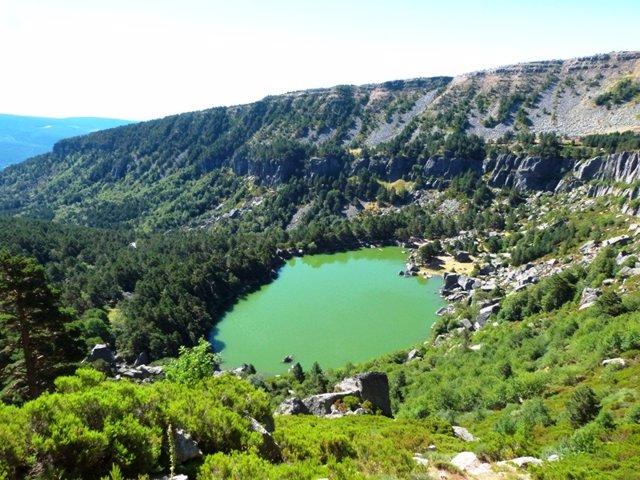 Laguna Negra de Urbión, en Soria.