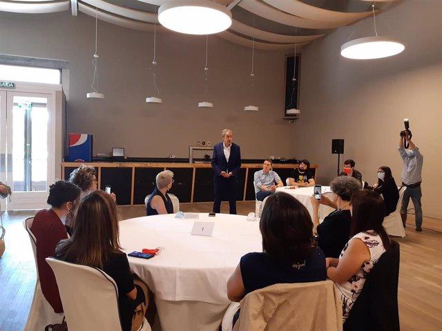 Intervención del expresidente del Gobierno José Luis Rodríguez Zapatero en un encuentro por las políticas de igualdad y los derechos civiles