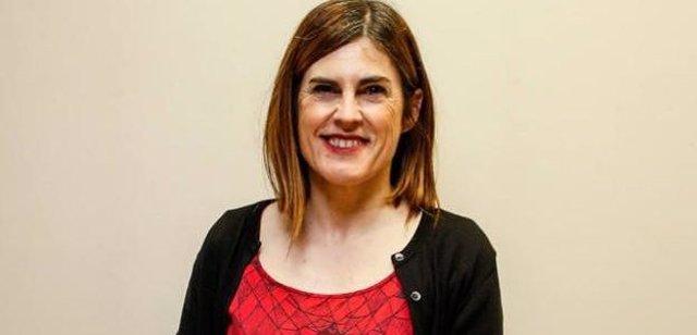 La candidata a lehendakari de Elkarrekin Podemos-IU, Miren Gorrotxategi.