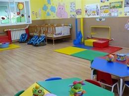 Imagen de archivo de una escuela infantil sin alumnos.