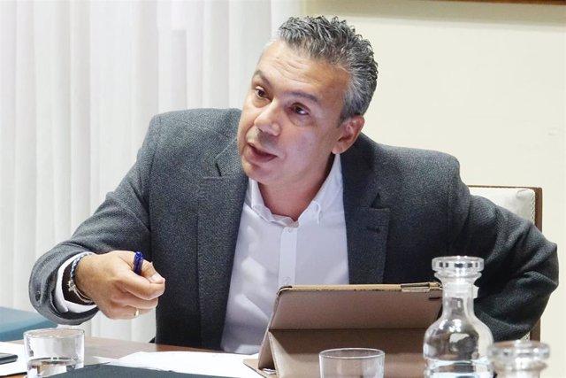 Dámaso Arteaga, concejal del Grupo CC-PNC en el Ayuntamiento de Santa Cruz de Tenerife