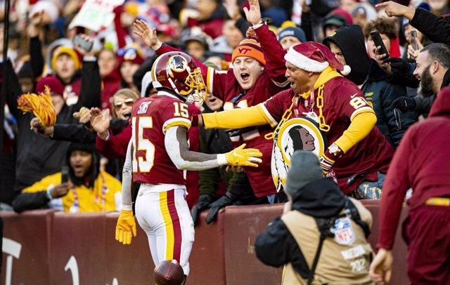 Partido de los Washington Redskins en la NFL