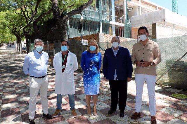 Málaga.- Las obras del centro de salud de San Pedro se retomarán en unas semanas