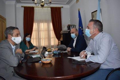 Juan Bravo apela a aprovechar la situación estratégica de los municipios del eje de la antigua N-IV a su paso por Jaén