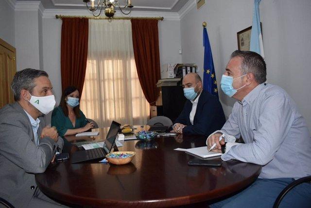 Reunión en el Ayuntamiento de Guarromán
