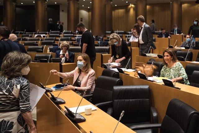 Ana Pastor, portavoz del PP en la Comisión de la Reconstrucción