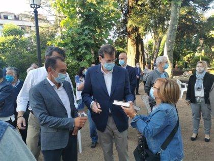 """Rajoy erige a Feijóo en el candidato de la """"integración"""" frente a """"doctrinarios"""" y """"sectarios"""""""