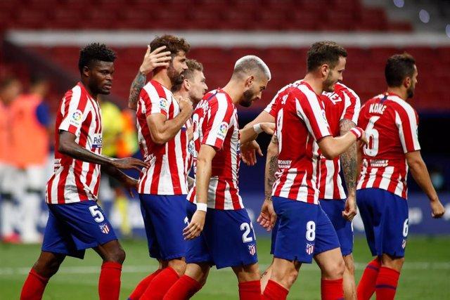 El Atlético de Madrid vence al Mallorca en el Wanda Metropolitano