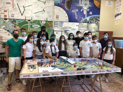El colegio logroñés de 'La Enseñanza' primer Premio a la Presentación en la gran final de la First Lego Leage
