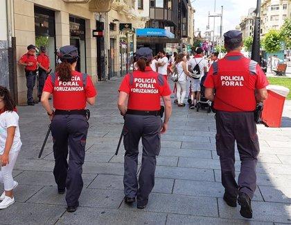Policía Foral desplegará 90 agentes el 6 de julio en Pamplona