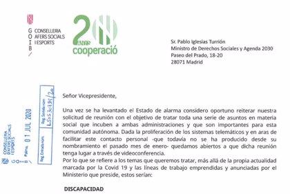 Santiago pide una reunión por carta a Iglesias y Escrivá para abordar cuestiones bilaterales más allá de la COVID-19