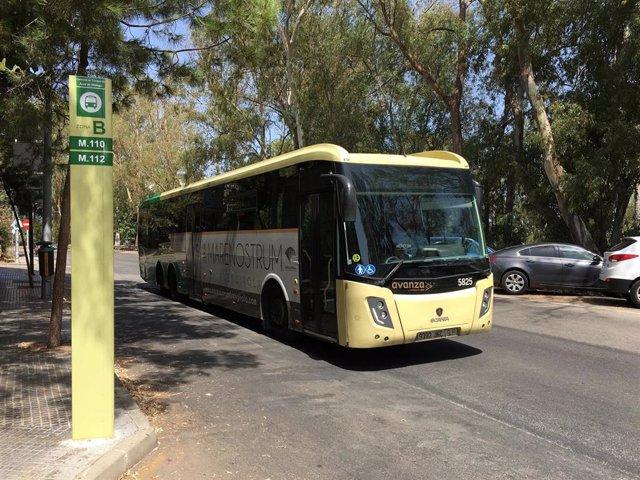 Autobús del consorcio de transportes de Málaga