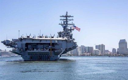 El despliegue de EEUU en el mar de la China Meridional hará maniobras militares en plena tensión regional