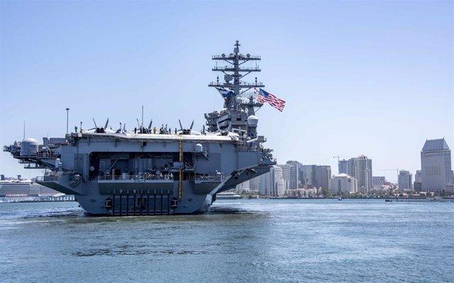 El portaaviones USS Nimitz