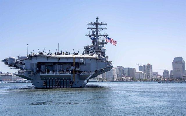 EEUU/China.- El despliegue de EEUU en el mar de la China Meridional hará maniobr