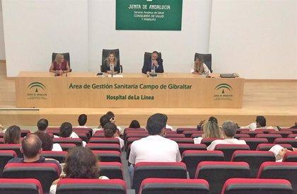 La Junta de Andalucía respalda la labor de los profesionales del Área de Gestión Sanitaria del Campo de Gibraltar