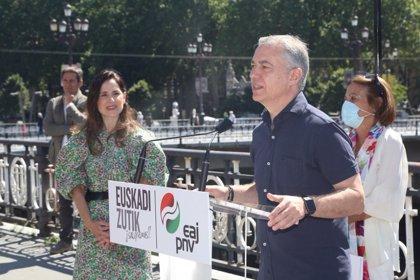 """Urkullu se compromete a situar a Euskadi entre """"los ocho países europeos con mayor igualdad de género"""""""