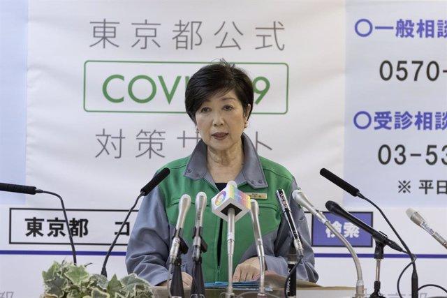 Coronavirus.- Tokio sigue la curva ascendente de su repunte de contagios con 131
