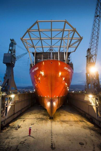El astillero Metalships pone en marcha un centro de reparación de grandes buques en la ría de Vigo