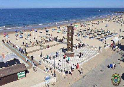 Restringen el acceso a playas de Chipiona, Rota, y Barbate (Cádiz)