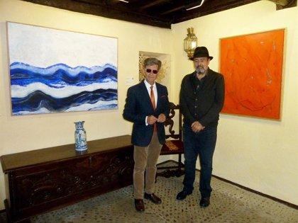 Agustín Decórdoba expone sus obras abstractas en el Museo Pecharromán de Pasarón de la Vera