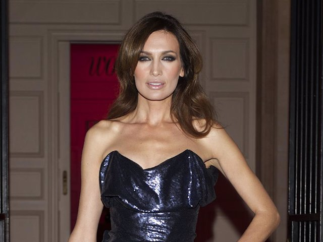 Model Nieves Alvarez attends Woman Magazine Awards 2012 at French Embassy on March 22, 2012 in Madrid, Spain.
