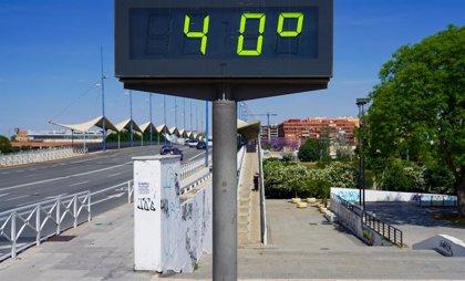 Avisos naranjas este domingo por temperaturas máximas de 40 grados en Sevilla, Córdoba y Jaén