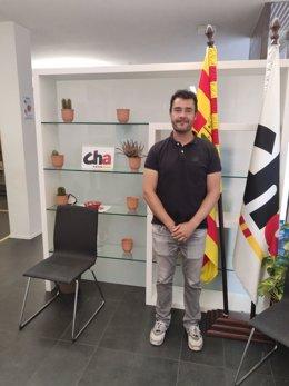Chuaquín Bernal, elegido presidente de CHA en la Comarca de Zaragoza.