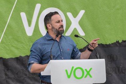 """Abascal erige a Vox como el partido del """"sentido común"""", que puede acabar con """"la ley del silencio"""""""