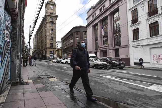 Coronavirus en Valparaíso, Chile.