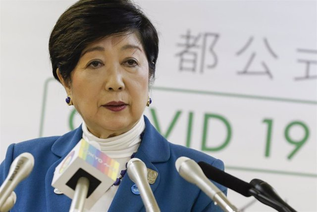 La gobernadora de Tokio, Yuriko Koike