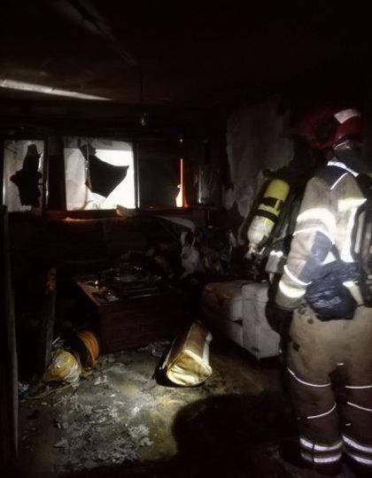 Fallece un varón de 67 años en el incendio de una vivienda en La Flecha (Valladolid)