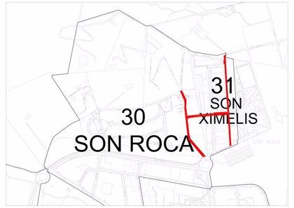 Cort invertirá 73.000 euros en renovar el pavimento de diversas calles de los barrios Son Ximelis y Son Roca