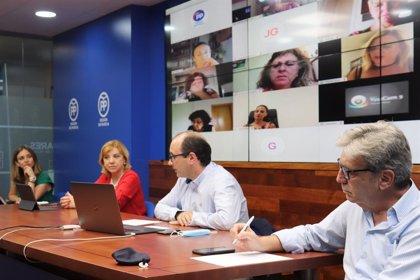 """Violante Tomás: """"Mientras Sánchez plantea un sablazo fiscal, López Miras protege la economía de las familias"""""""