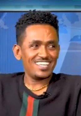 El cantautor fallecido de la etnia oromo Hachalu Hundessa.