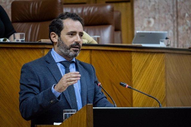 José Ramón Carmona, coordinador general del PP de Málaga y parlamentario andaluz