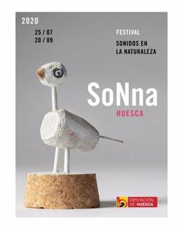 Cartel del Festival Sonna Huesca.