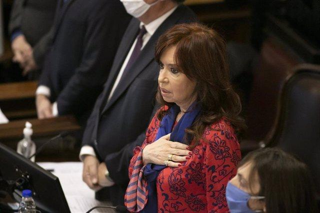 La vicepresidente argentina, Cristina Fernández de Kirchner