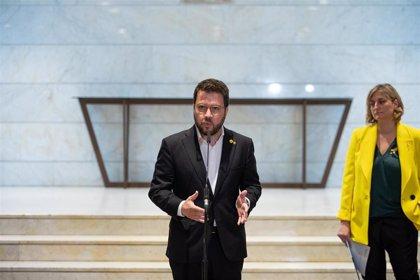 """Aragonès insta al Gobierno a revelar """"cuál es su propuesta política"""" para Catalunya"""