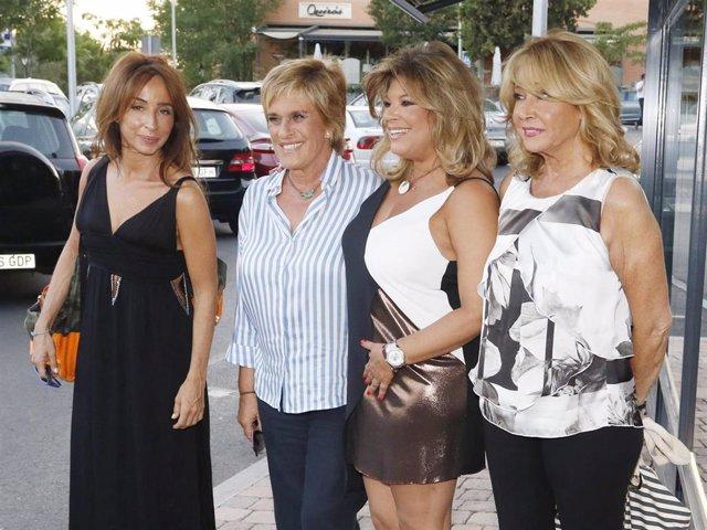 María Patiño, Chelo García Cortés, Terelu Campos y Mila Ximénez