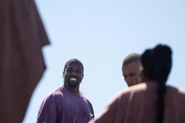 El rapero Kanye West