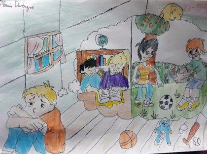 Barcelona convierte en material pedagógico las creaciones de los niños durante la alarma