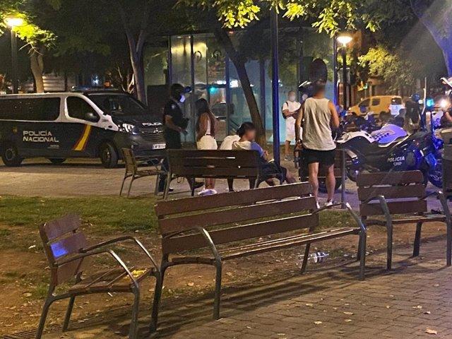 Segunda fase del operativo de Policía Nacional y Policía Local para evitar concentraciones masivas en Palma.