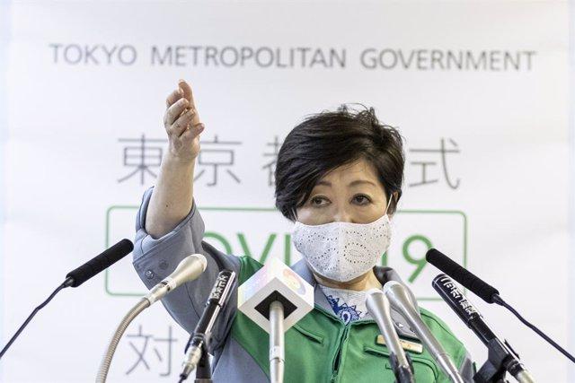 Japón.- Yuriko Koike, reelegida gobernadora de Tokio en medio de un repunte de l